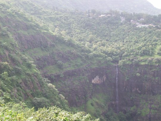 Water Fall at Pavagadh.........