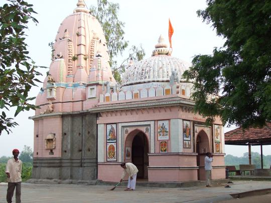 Tample at Village Lasundra.....