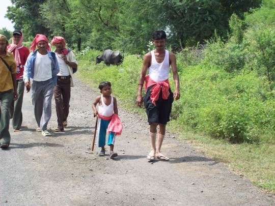 One Little Boy Coming from Vasad..........